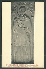 Postal antigua del Abad Guillem andachtsbild santino holy card santini