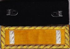 Indian Wars Cavalry 1st Lieutenant Shoulder Boards - Straps w/Clips & Free Coin