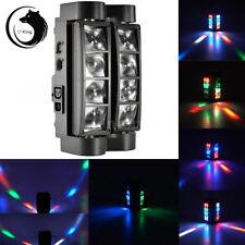 85W 8-LED RGBW LED DMX DJ Spider Moving Head Stage Lighting Party Light US Plug