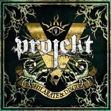 vProjekt Exhilarate & Disgust LIMITED 2CD Digipack 2011