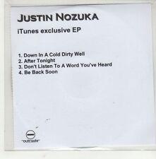 (GQ996) Justin Nozuka, 4 track EP - DJ CD