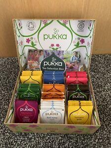 Pukka Organic Tea Selection 45 Sachets Gift Box 9 Incredible Organic Herbal Teas
