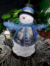 FigurineThomas Kinkade Victorian Christmas Snowman 1st Series Winter Wonderland