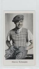 1934 Caid Beruhmter Filmkunstler Tobacco Base #164 Heinz Ruhmann Card 1s8