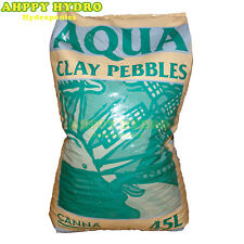 Canna Aqua Clay Pebbles Balls 45 Litre Large Bag Hydroponics - Growing Media