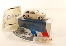 Record F Renault R5 Turbo CODEC Tour de Corse 1982 boite Kit base solido 1/43