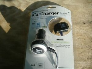 Monster Cable Ipod Car Charger (NEW)