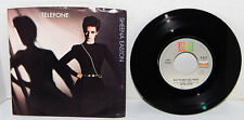 "7 inch 45 RPM  Vinyl Record ""Telefone"" by Sheena Easton / with Sleeve"