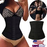 Women Waist Trainer Body Shaper Tummy Control Cincher Shapewear Gym Slimming US