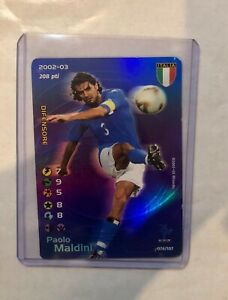 PAOLO MALDINI - FOOTBALL CHAMPIONS 2002/2003 FOIL - ITALIA - 076/107
