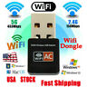 Dual Band 600Mbps 2.4G/ 5G Hz Wireless Lan Card USB PC WiFi Adapter 802.11AC-RO