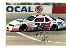 Autographed Ken Ragan NASCAR Auto Racing Photograph