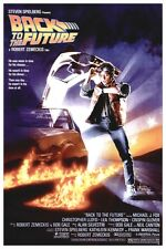 """1985 BACK TO THE FUTURE -  CLASSIC MOVIE POSTER 12"""" X 18"""""""