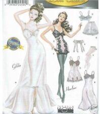 "For Gene 15.5"" Doll Lingerie Pattern 9527 Uncut"