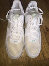 Nike Air Force Ones. BRS Productions. White And Tan. Size 14