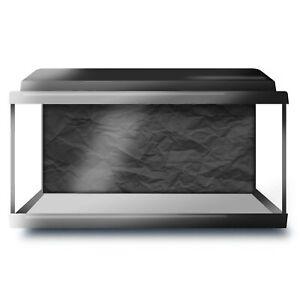 Fish Tank Background 90x45cm BW - Crumpled Paper Effect  #42082