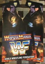 Wrestlemania Side Art Arcade Artwork WWF Decal Overlay Sticker CPO Midway