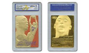 1996-97 KOBE BRYANT FEEL THE GAME Fleer Flair NBA Legacy GOLD ROOKIE GEM-MINT 10