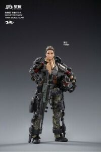 1/18 FIGURE - JOY TOY - Skeleton Force Twin Sickle Team - Helan (6973130370265)