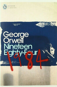 1984 Nineteen Eighty-Four (Penguin Modern Classics) by George Orwell - Paperback