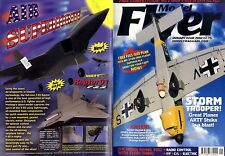 RADIO CONTROL MODEL FLYER MAGAZINE 2002 JAN GREAT PLANES STUKA ARTF & SPIRIT 2M