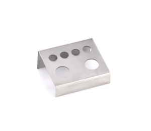 PRECISION Steel Ink Cup Holder 6 Slots for Tattoo Ink Caps #9 & #16 Accessories