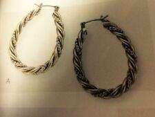 """Twist """"Brass"""" Earrings Premier Designs - Simple"""