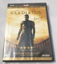 Gladiator - Russell Crowe (Dvd, 2000, 2-Disc Set) Signature Selection Widescreen