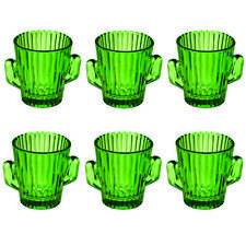 More details for 6 x glass cactus mexican shooters shots bar glasses - party festival home bbq