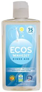 Ecos WaveJet Natural Rinse Aid (8oz)  Earth Friendly - without Petrochemicals