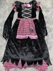 Fairytale Black & Purple Witch Girls Child Halloween Costume | Disguise 3216