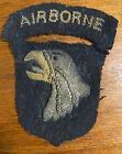 One Of The Best English Made Bullion WW2 101st Airborne SSIs Around