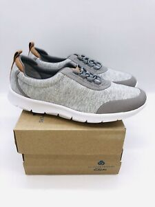 Clarks Collection Women's Cloudsteppers Step Allena Bay Sneakers - Grey