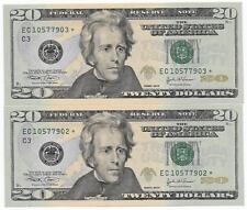 Scarce $20 2004 Philadelphia District 4th Printing 3.2Mil Printed Star CHCU