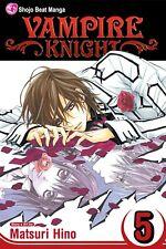Vampire Knight Vol. 5 Manga (Paperback) ISBN:1421519542