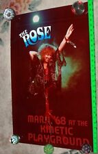 BETTE MIDLER Movie prop for THE ROSE 20 x 30 kodak paper mixed media Chicago