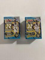 2019-20 Panini NBA Hoops Premium Stock 32 Cards Box Factory Sealed Lot Of 2!!