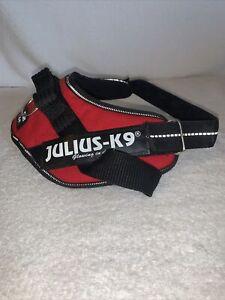 Julius-K9 M Dog Harness Mini Red/ Black Used