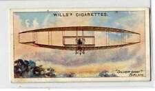 (Jd231-100)  Will's, Aviation , Silver Dart Biplane  , 1910, #43