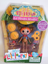 MINI La La Loopsy Silly Fun House ACE FENDER BENDER Doll & Accessories - Age 4+