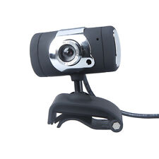 USB 2.0 50.0M HD Webcam Camera Web Cam with Microphone for Computer PC Black