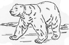 Unmounted Rubber Stamps, Animals, Polar Bear, Bears, Wildlife, Scenic Stamps
