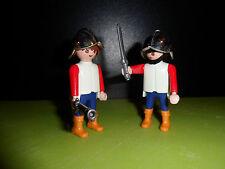 PLAYMOBIL - Bodyguards cavalier rider chevalier Ritter knight figure (J236)