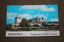 Vintage Postcard Zehnder's Frankenmuth Chicken Dinner, Frankenmuth, Michigan