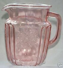 MAYFAIR OPEN ROSE PINK 37-OUNCE JUICE PITCHER!
