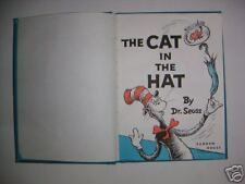 Vintage The Cat in the Hat H/B Book by Dr. Seuss 1985