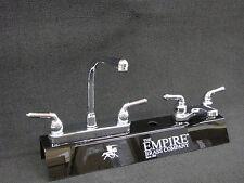 RV Marine Mobile Home Parts Kitchen Sink & Bathroom Lav Faucet Combo Chrome