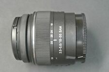 Sony DT 18-55mm F3.5-5.6 SAM ZOOM LENS