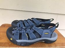 Men's Keen Newport H2 Sandals Blue/Grey Size US 9 / EUR 42