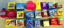 Lot of 100 SHOPKINS Figures + Real Littles Name Brand Foods Breyers Eggo Keebler